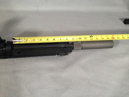 """9"""" barrel with CASV-KM9 halo"""