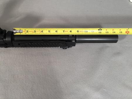 """9"""" barrel with CASV-KM9"""